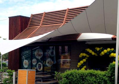 McDonalds Mechelen – Terrasoverkapping zakelijk